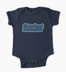 Body de manga corta para bebé Petrolhead Blue