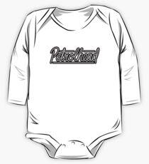 Body de manga larga para bebé Letras de petrolhead