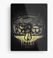 Dark Knight Skull Metal Print