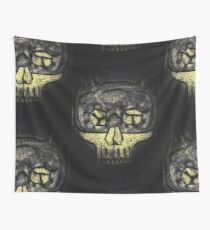 Dark Knight Skull Wall Tapestry