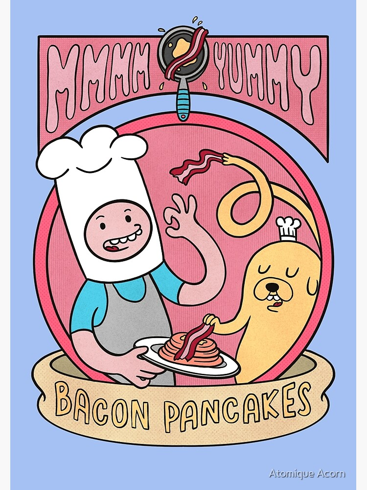 Bacon pancakes by shinuchan