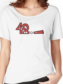 Forty-Two Women's Relaxed Fit T-Shirt