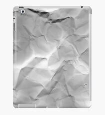 crumpled iPad Case/Skin