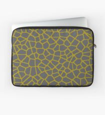 Staklo (Gray/Gold) Laptop Sleeve