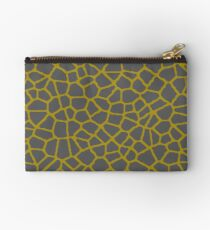 Staklo (Gray/Gold) Studio Pouch