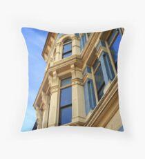 """Historic Building"" Throw Pillow"