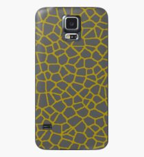 Staklo (Gray/Gold) Case/Skin for Samsung Galaxy