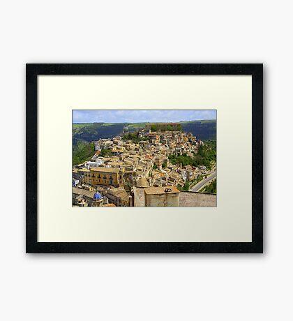 Ragusa Inferiore (Sicily, Italy) Framed Print