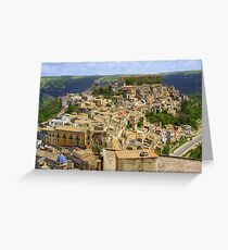Ragusa Inferiore (Sicily, Italy) Greeting Card