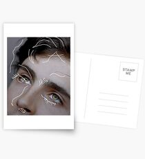 Timothée Chalamet Aesthetic Contour Postcards