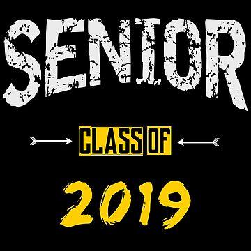 Senior | Class Of 2019 | School Graduation by PureCreations