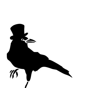 Edgar Allan Crow by wolfandbird