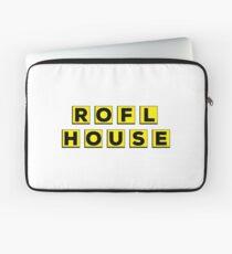 ROFL House (Waffle House Parody) Laptop Sleeve
