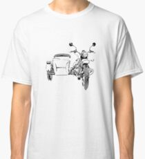 Sidecar motorcycle Classic T-Shirt