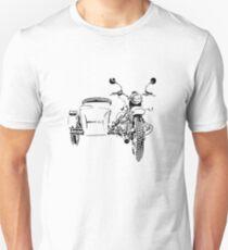 Sidecar motorcycle Unisex T-Shirt