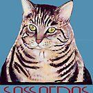 Sassafras the cat by Julie Ann Accornero