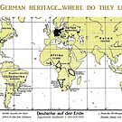 Where 100 million Germans lived in 1930 by edsimoneit