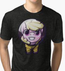 Hi! I'm [MORE OBNOXIOUS] Puppysmiles!  Tri-blend T-Shirt