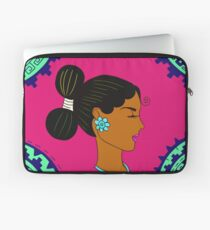 Lady Turquoise  Laptop Sleeve