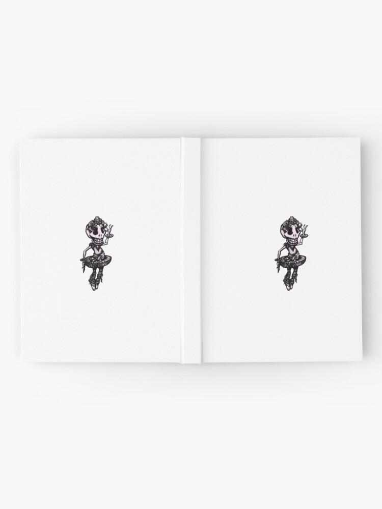 Vista alternativa de Cuaderno de tapa dura Intento - Colección cráneo