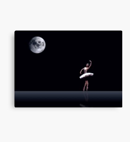 Dancing in the Moon light ... Canvas Print