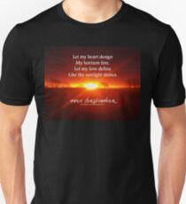 Let My Heart Design Unisex T-Shirt
