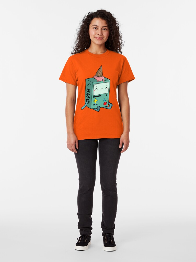 Alternate view of BMO adventure time Classic T-Shirt