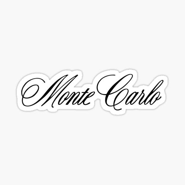STICKER PEGATINA DECAL VINYL  Monte Carlo Circuit