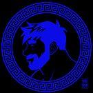 ADAM LIKES GREECE - BLUE by bobobear