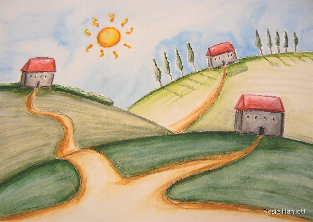 The Little Village by Rosie Harriott