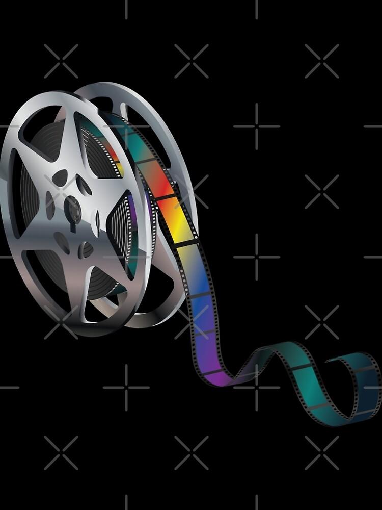 Movie Reel Icon 2 by AnnArtshock