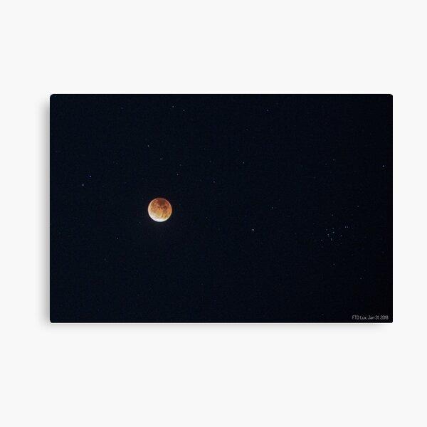 Berkeley Lunar Eclipse Canvas Print