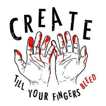 Finger Bleed by DanielDaWhite