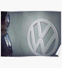 Split screen volkswagen Poster