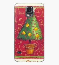 Funda/vinilo para Samsung Galaxy PEQUEÑO ÁRBOL DE NAVIDAD EN POT - Feliz Navidad