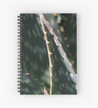 Succulent Sharp Spiral Notebook