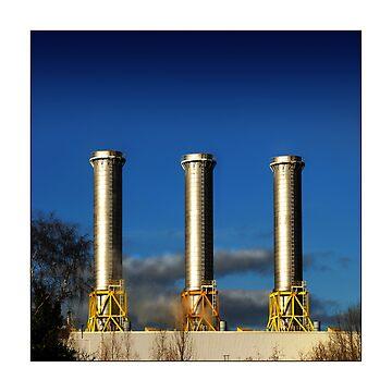 Power-plant (Rye House - Hoddesdon) by MoGeoPhoto