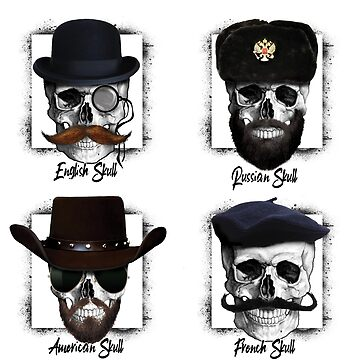 Funny type of skulls by clad63