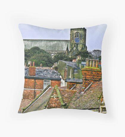 St Mary's Church - Scarborough Throw Pillow