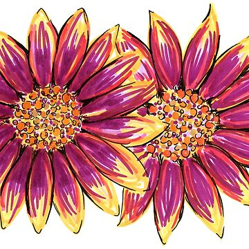 Inspired by Two Daisies by jangelbud