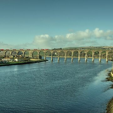 The Royal Border Bridge at Berwick  by hawkie