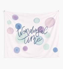 Wonderful Time #redbubble #xmas Wall Tapestry