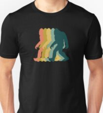 Bigfoot Retro Design Unisex T-Shirt
