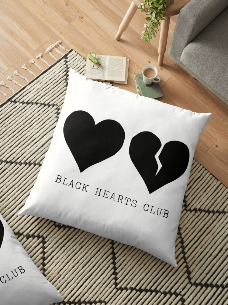 Quot Yungblud Black Hearts Club Quot Floor Pillows By Hlncxiiiv
