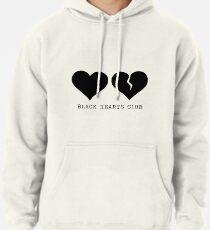 Yungblud schwarzer Herzklub Hoodie