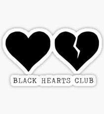 yungblud black hearts club Sticker