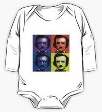 Pop Art - Edgar Allan Poe One Piece - Long Sleeve