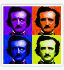 Pop Art - Edgar Allan Poe Sticker