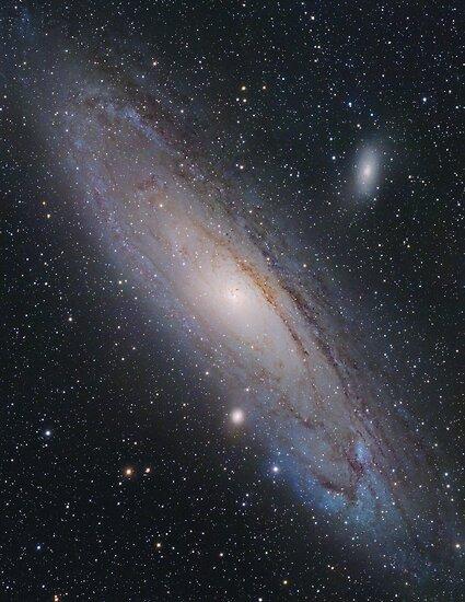 Andromeda Galaxy, M31 (New Mosaic) by Igor Chekalin