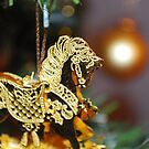 The Golden Horse by babibell
